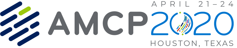 AMCP 2020 logo with date