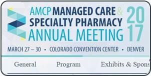 AMCP Meeting Spring 2017